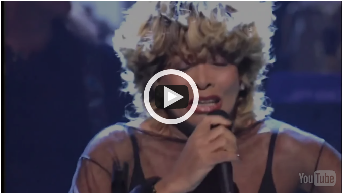 "Tina Turner ""You're Simply the Best"" 76 years old.."